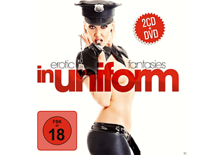 VARIOUS - Erotic Fantasies In Uniform (2cd+Dvd) - (CD + DVD)