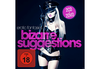 VARIOUS - Erotic Fantasies Bizarre Suggestions (2cd+Dvd) - (CD + DVD)