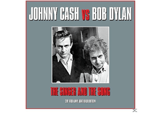 Johnny Cash, Bob Dylan - Johnny Cash Vs Bob Dylan - (Vinyl)