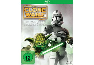 Star Wars - The Clone Wars - Staffel 6 - (Blu-ray)
