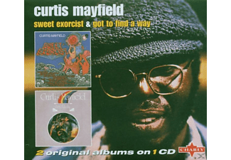 Curtis Mayfield - Got to Find a Way/Sweet Exorcist - (CD)