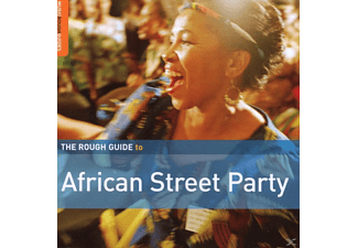 VARIOUS - African Street Party - (CD)