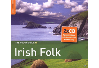 VARIOUS - Rough Guide: Irish Folk - (CD)
