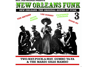 VARIOUS - NEW ORLEANS FUNK 3 - (CD)