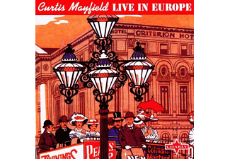 Curtis Mayfield - LIVE IN EUROPE - (CD)