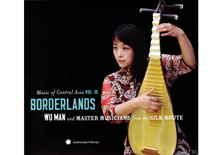 Wu Man - Music of Central Asia Vol. 10: Borderlands - (CD + DVD)
