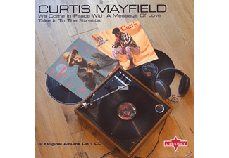 Curtis Mayfield - We Come In Peace With A Message Of Love/Take It To [CD]