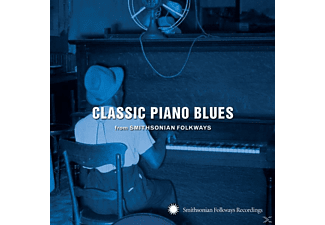 VARIOUS - Classic Piano Blues: From Smithsonian Folkways - (CD)