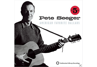 Pete Seeger - American Favorite Ballads Vol.1/5 - (CD)