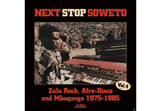 VARIOUS - Next Stop Soweto 4:Zulu Rock, Afro-Disco And Mbaqanga 1975-1985 [CD]