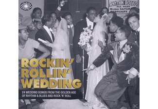 VARIOUS - Rockin' Rollin' Wedding [CD]
