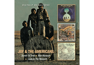 Jay & The Americans - Sands Of Time/Wax Museum/Capture The Moment - (CD)