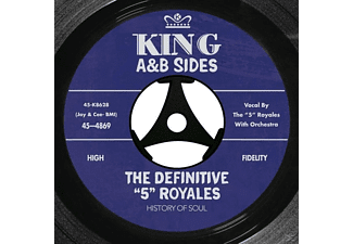 "The 5 Royales - The Definitive ""5"" Royales: King A& - (CD)"