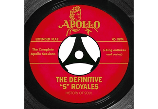 "The 5 Royales - The Definitive ""5"" Royales : The Co - (CD)"