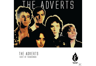 Adverts - Cast Of Thousands - (CD)