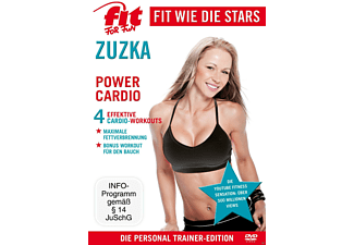 Fit For Fun - Fit wie die Stars - Zuzka - Power Cardio [DVD]