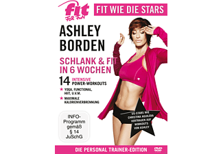 Fit For Fun - Fit wie die Stars - Ashley Borden: Fit & Schlank in 6 Wochen - (DVD)