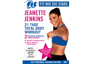 Fit For Fun - Fit Wie Die Stars - Jeanette Jenkins: 21 Tage Total Body Workout - (DVD)