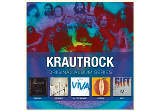 VARIOUS, Krautrock - Original Album Series [CD]