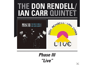 Ian Carr Quintet, Don Rendell - Phase Iii/'live' [CD]