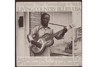 Archie Edwards - Living Country Blues Usa-Vol.06..Rough And Rocky - (CD)