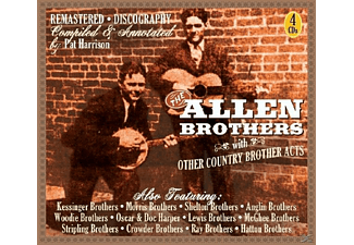 The Allen Brothers - And Other Country Brother Acts - (CD)