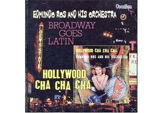 Edmundo Ros - Broadway Goes Latin & Hollywood Cha Cha - (CD)