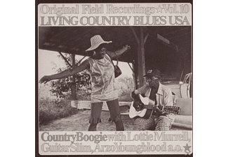 Country Boogie - Living Country Blues Usa-Vol.10 - (CD)