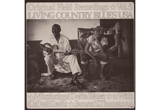 Various & Mississippi Delta - Living Country Blues Usa-Vol.05 [CD]