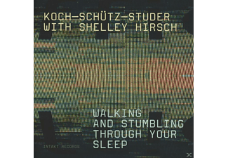 Hans Koch, Shelley Hirsch, Fredy Studer, Martin Schütz - Walking And Stumbling Through - (CD)