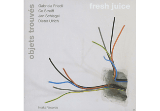 Objets Trouvés - Fresh Juice - (CD)