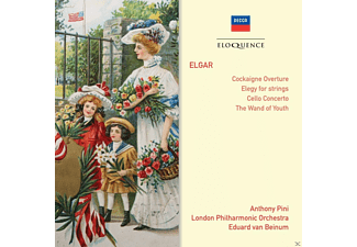 Anthony Pini, London Philarmonic Orchestra - Cockagine-Cello Concerto-Wand Of Youth - (CD)