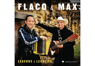 Flaco & Max, Max Baca, Flaco Jimenez - Legends & Legacies - (CD)