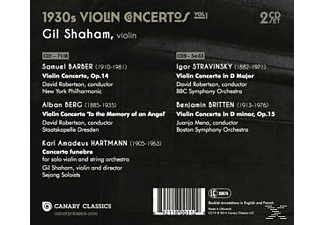 Shaham - 1930s Violin Concertos Vol.1 - (CD)