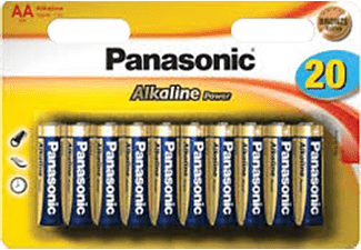 PANASONIC Alkaline Power Bronze AA/R6 20-pack - Batterier