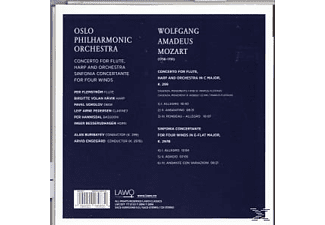 Oslo Philharmonic Orchestra, VARIOUS - Concerto For Flute, Harp And Orchestra - (CD)