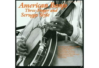 VARIOUS - American Banjo: Three-Finger and Scruggs Style - (CD)