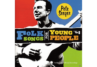 Pete Seeger - FOLK SONGS FOR YOUNG PEOPLE - (CD)