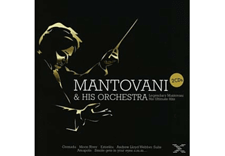Mantovani & His Orchestra - Legendary Mantovani - His Ultimate Hits [CD]