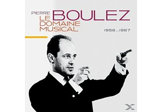 Pierre Boulez - Le Domain Musical/1956-1967 (Ltd.Edt.) - (CD)