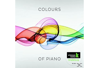 Various - Colours Of Piano (Klassik Radio) - (CD)