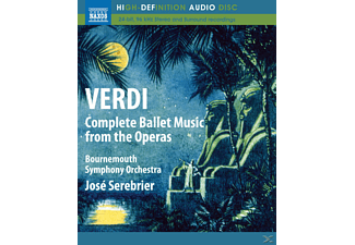 Serebrier, Bournemouth Syph.Orc, José/bournemouth So Serebrier - Ballettmusiken aus den Opern - (Blu-ray Audio)