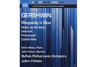 Falletta/Weiss/Fullam/Buffalo, Weiss,Orion/Falletta,JoAnn/Buffalo PO - Rhapsody in Blue/Strike up the Band - (Blu-ray Audio)