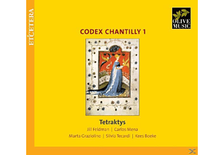 Tetraktys & Feldman - Codex Chantilly Vol.1 [CD]
