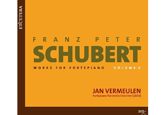 Jan Vermeulen - Schubert - Works for Fortepiano Volume 5 - (CD)