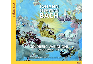 Pieter Dirksen - Goldberg Variationen/Kanonische Variationen - (CD)