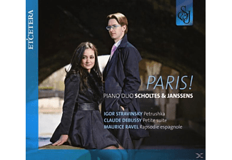Pianoduo Scholtes & Janssens - Paris! - (CD)