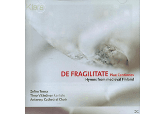 Zefiro Torna - DE FRAGILITATE, PIAE CANTIONES - (CD)
