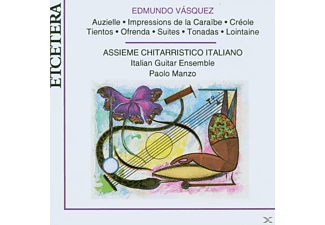 Assieme Chitarristico Italiano - Music For Guitars - (CD)