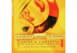 Basch - Arias & Cantatas F.Soprano,Trumpet and Strings - (CD)
